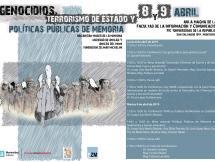 """""""Genocidios, terrorismo de Estado y políticas públicas de memoria"""""""